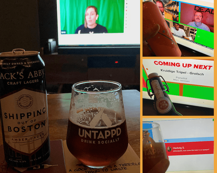 Untappd Virtual Beer Festival