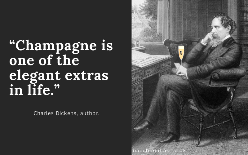 Charles Dickens Champagne Quote