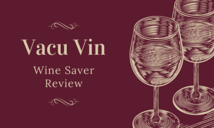 Vacu Vin Concerto Wine Saver Review