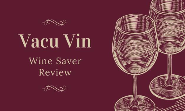 Vacu Vin Concerto Wine Saver Review