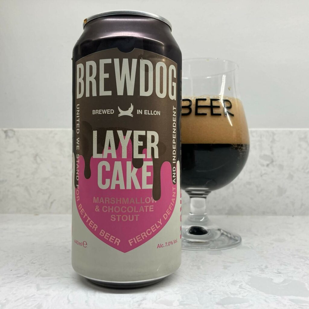 Brewdog's Layer Cake