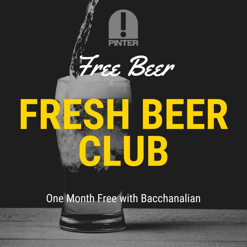 Fresh Beer Club - Free Beer!