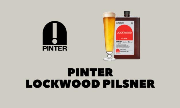 Pinter Brew #1: Lockwood Pilsner Review