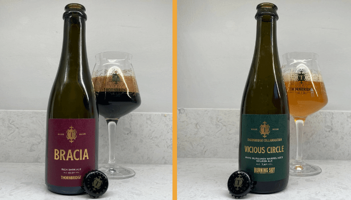 Bracia and Vicious Circle Beers from Thornbridge