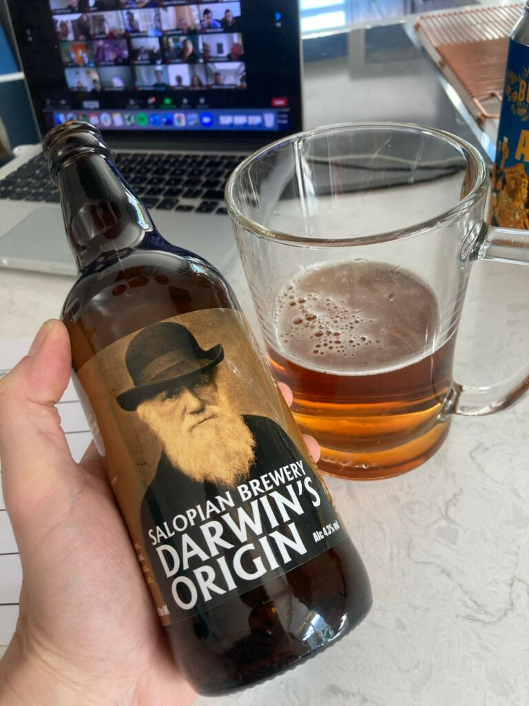 Salopian Darwin's origin