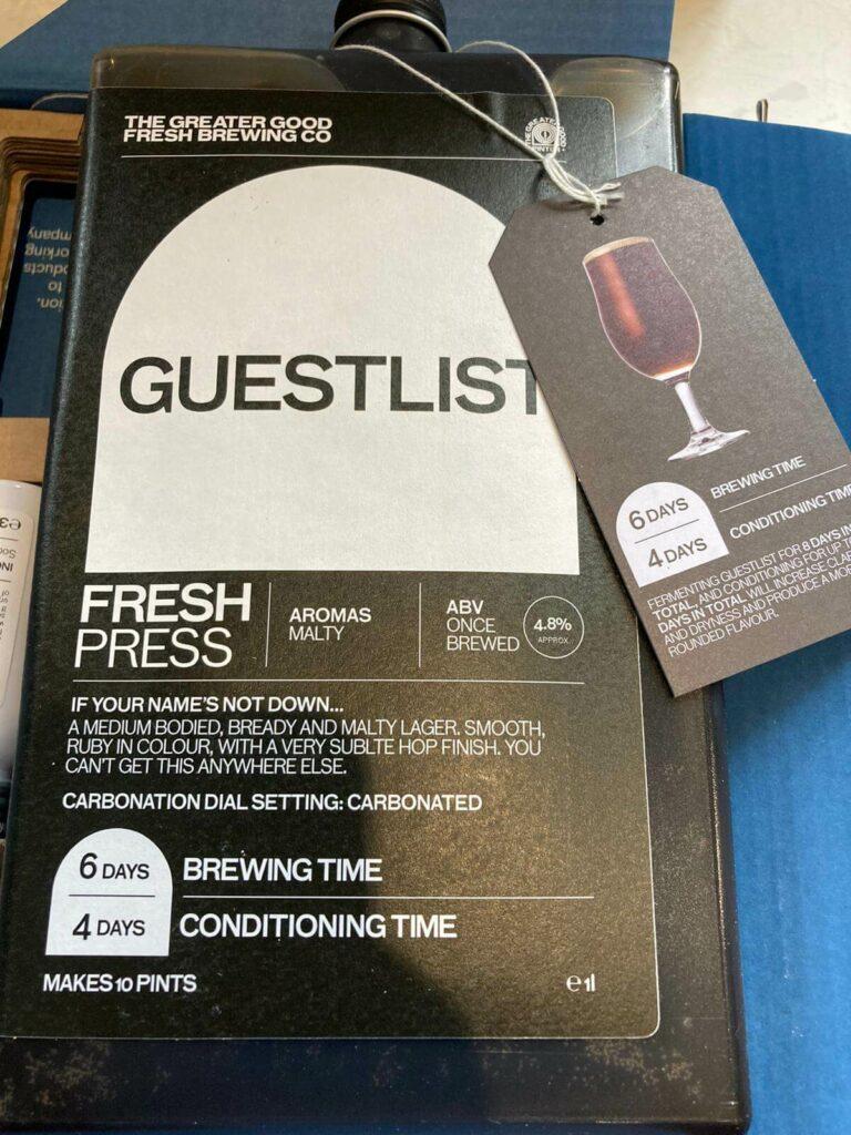 Guestlist Fresh Press
