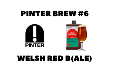 Pinter Brew #6: Welsh Red B(Ale)